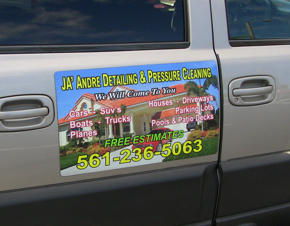 Custom Signs Today West Palm Beach Car Magnet Sign Florida - Custom car magnets round   promote your brand